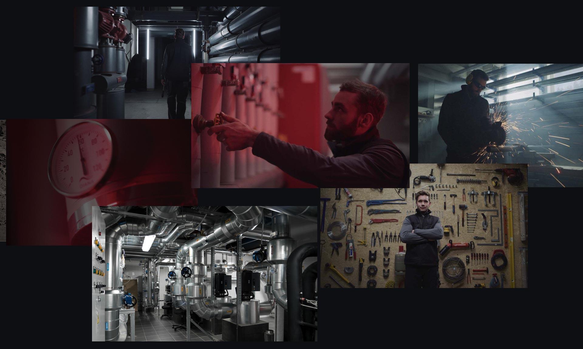 Collage Anlagenmechaniker